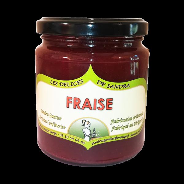 produits-artisanaux-mijote-de-fruits-fraise-les-delices-de-sandra-perigord