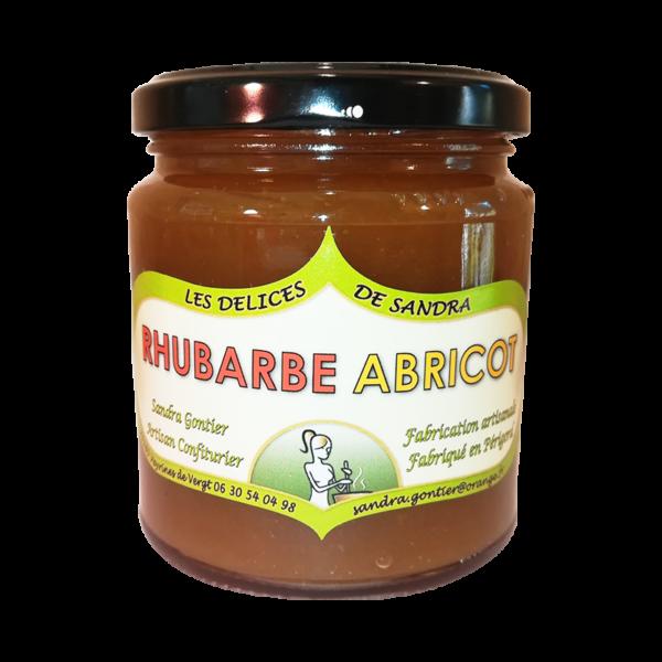 produits-artisanaux-mijote-de-fruits-rhubarbe-abricot-les-delices-de-sandra-perigord