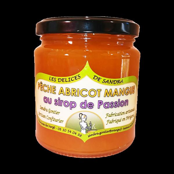 produits-artisanaux-mijote-de-fruits-peche-abricot-mangue-passion-les-delices-de-sandra-perigord